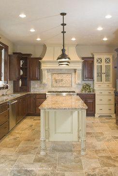 Kitchen travertine floor Design Ideas, Pictures, Remodel and Decor