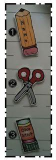 Freebie: MAGNETIC ICONS! First Grade Factory: Teacher...What Do I Do Next??