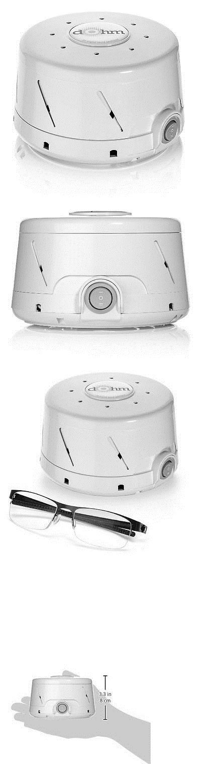 Sound Therapy: New! Natural White Noise Sound Machine White Sleep Actual Fan Marpac Dohm-Ds -> BUY IT NOW ONLY: $59.41 on eBay!
