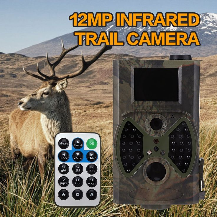 12MP Hunting Camera Cameras Scouting Digital Wildlife Camera Infrared Trail HC - 300A Trap Game Cameras NO Glow Night Vision
