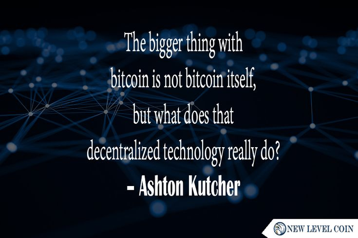 The bigger thing with #bitcoin is not bitcoin itself, but what does that #decentralized #technology really do?