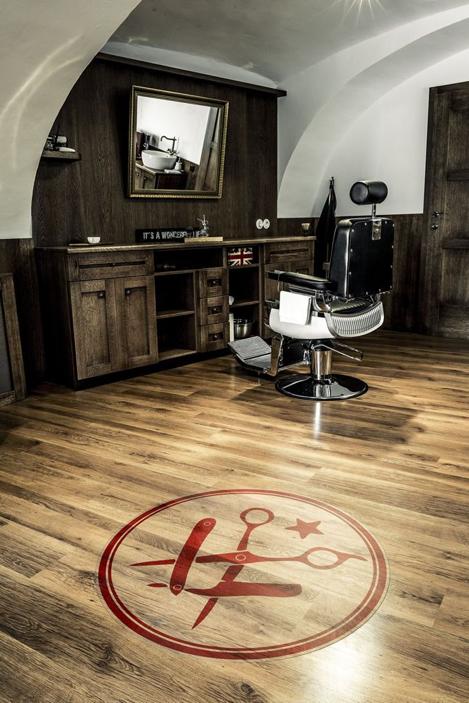 barber shop interior