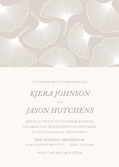 14 best Wedding Invitation Designs images on Pinterest Wedding - loose leaf template