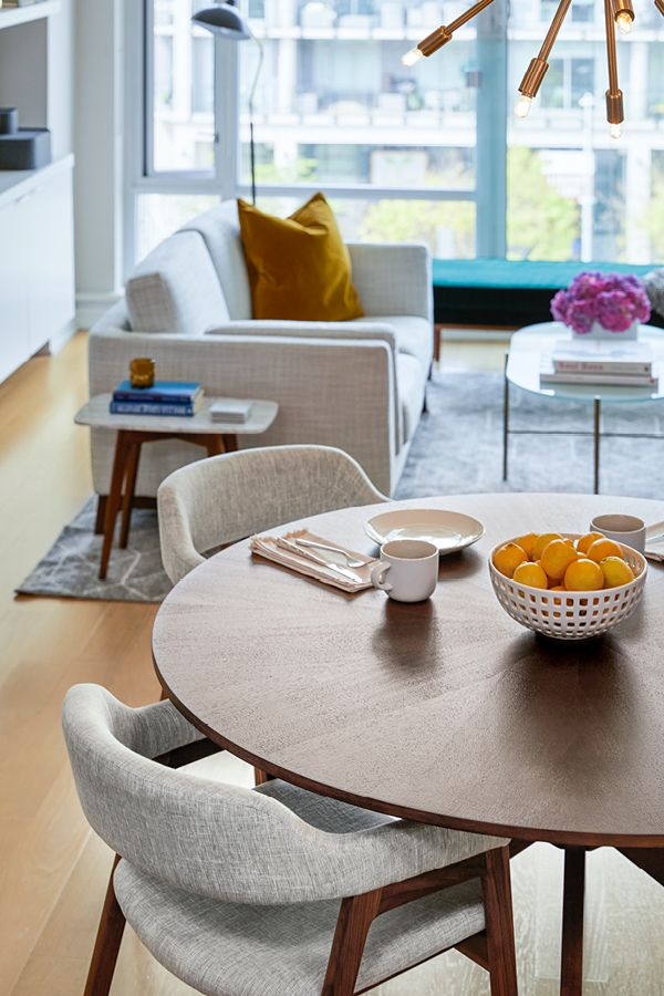 Conan Round Dining Table Dining Room Small Living Room Dining Room Combo Small Living Dining #small #round #table #for #living #room