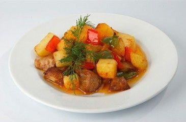 Овощное рагу с мясом - пошаговое приготовление. Рецепт рагу с мясом и овощами с фото