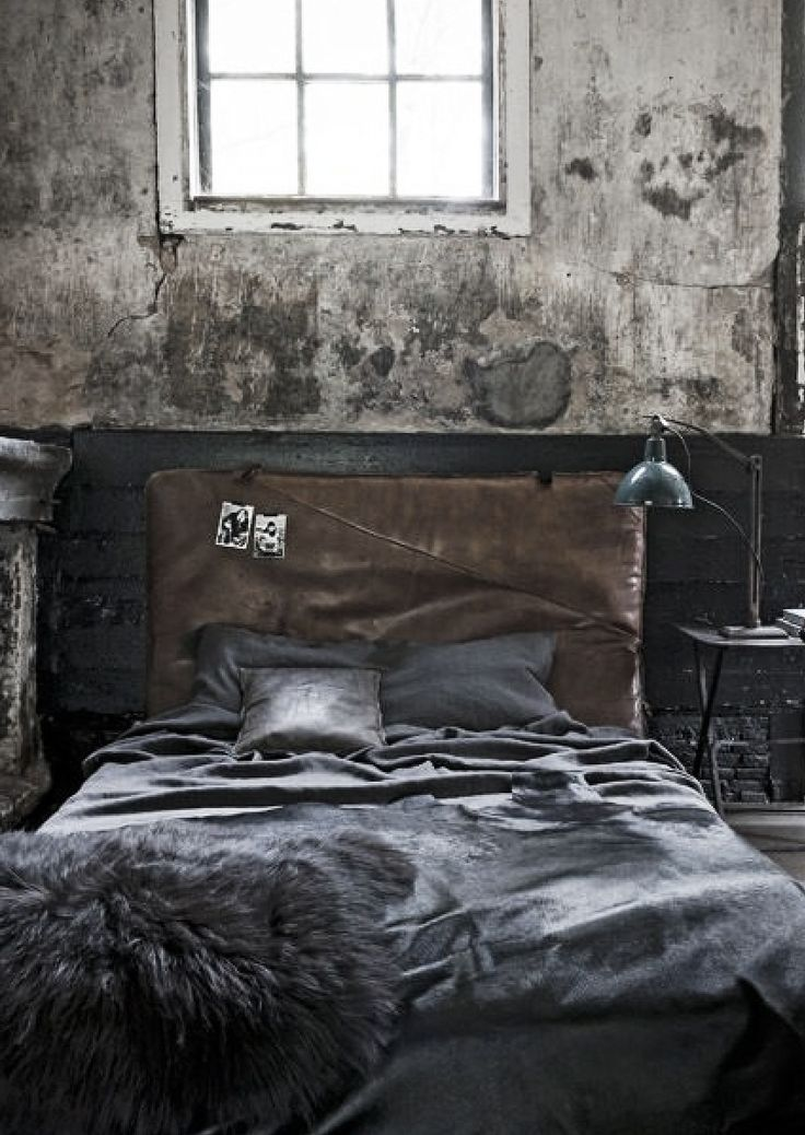 21 industrial bedroom designs bett pinterest for Schlafzimmer industrial style