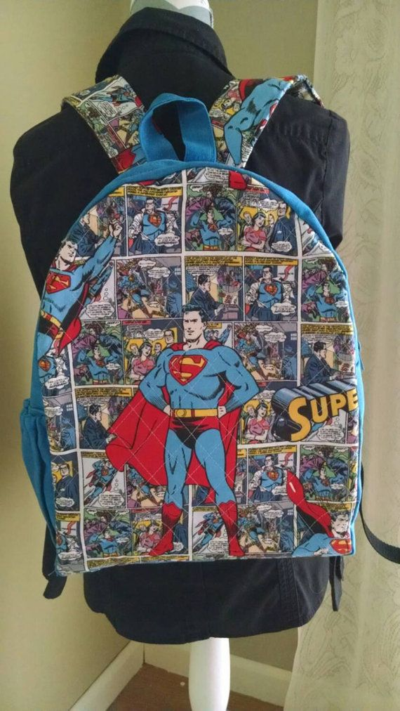 Check out this item in my Etsy shop https://www.etsy.com/listing/234803610/hand-waxed-canvas-and-quilted-superman
