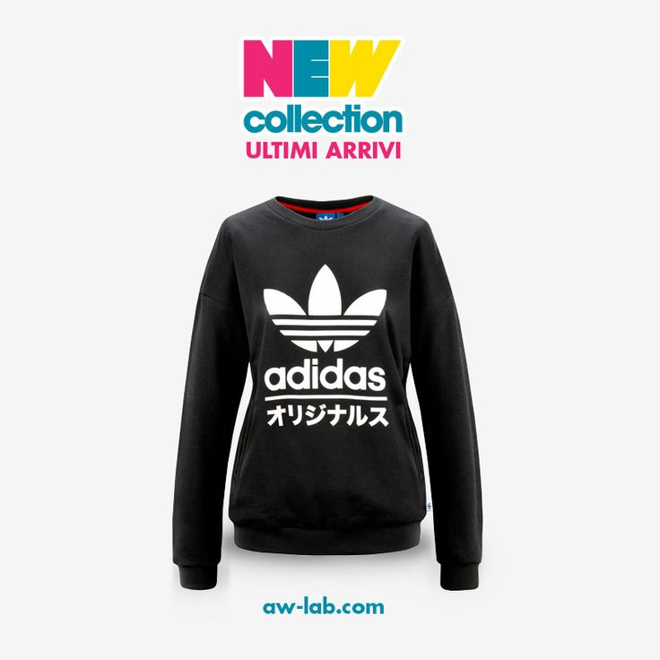 New Collection #AWLAB FELPA #ADIDAS TYPO Prezzo: 65,00€ Shop Online: http://www.aw-lab.com/shop/felpa-adidas-typo-9196102