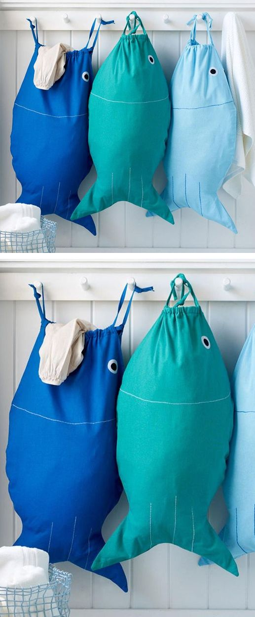 Bait & Hook | Fish Laundry Bag
