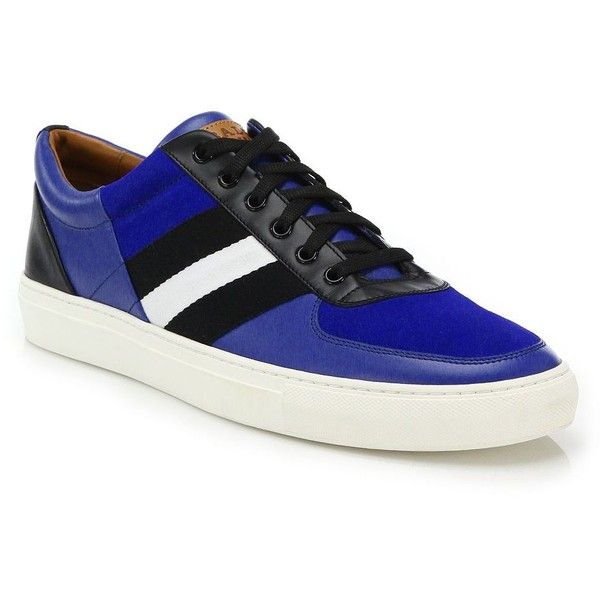 Bally Henke Trainspotting Sneakers : Bally Shoes (1.492.905 COP) ❤ liked on Polyvore featuring men's fashion, men's shoes, men's sneakers, apparel & accessories, blue, mens lace up shoes, mens blue sneakers, mens blue shoes, bally mens sneakers and bally mens shoes