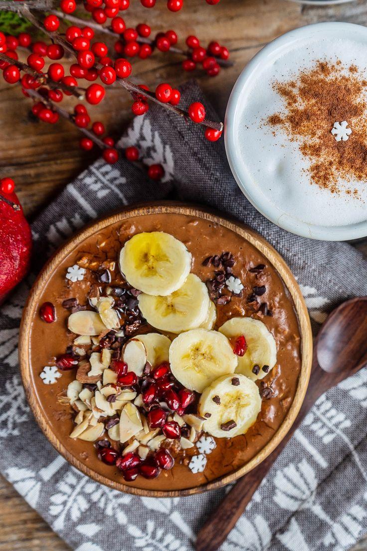 Gesunder Schokoladenbrei vegan #mrsflury Gesundes Frühstück, gesund essen, Gemüse sein …   – Gesunde Rezepte Mrs Flury Blog – meine Lieblingsrezepte