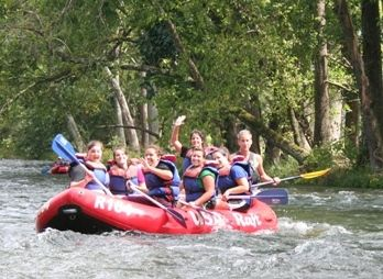 USA Raft: Whitewater rafting on the French Broad River, Nolichucky River Gorge, Lower Nolichucky River, Nantahala River and Watauga River. Camping, caving, climbing available.