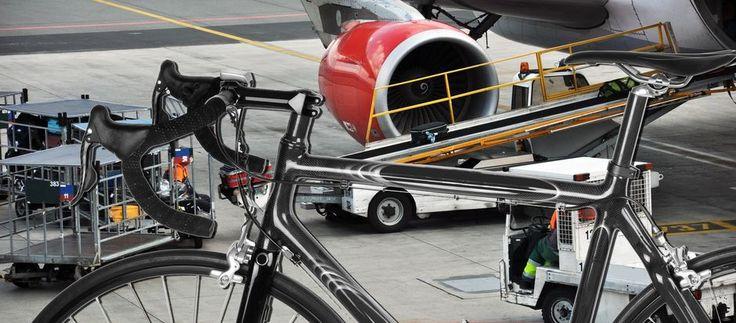 Frakt av sykkel på fly, store prisforskjeller.