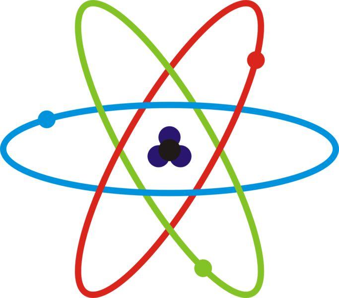 EL ÁTOMO. En la actualidad exisye un nuevo medelo atomico propiesto por Broglie, Heisenberg y Shrödinger el cual toma como base el modelo de Bohr , este modelo afirma que es imposible conocer con exactitud y de forma simultanea la posicion y velocidad de un electron en el atomo.