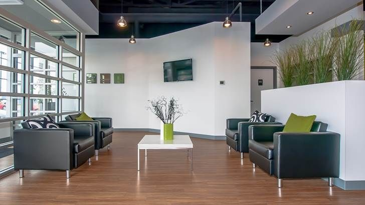 Patient waiting area office pinterest waiting area for Dental office design chapter 6