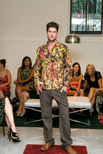 and for the gentlemen, our linen pants and custom printed linen shirts are the best possible choice for the summer... - Simply Vermeulen Resort Collection 2013