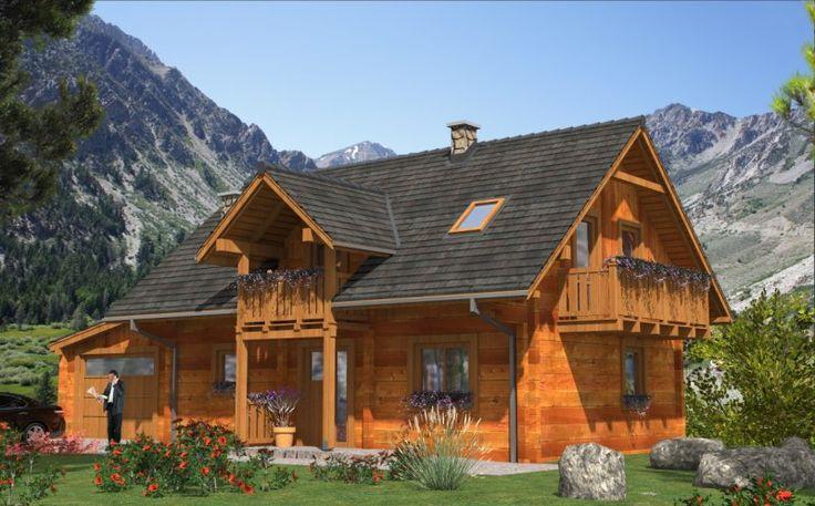 Dom jednorodzinny, parterowy z poddaszem użytkowym. Posiada 4 pokoje, kuchnię oraz garaż.