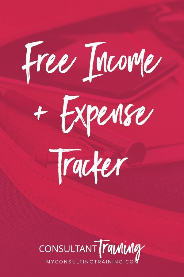 free income and expense tracker sam ovens pinterest business