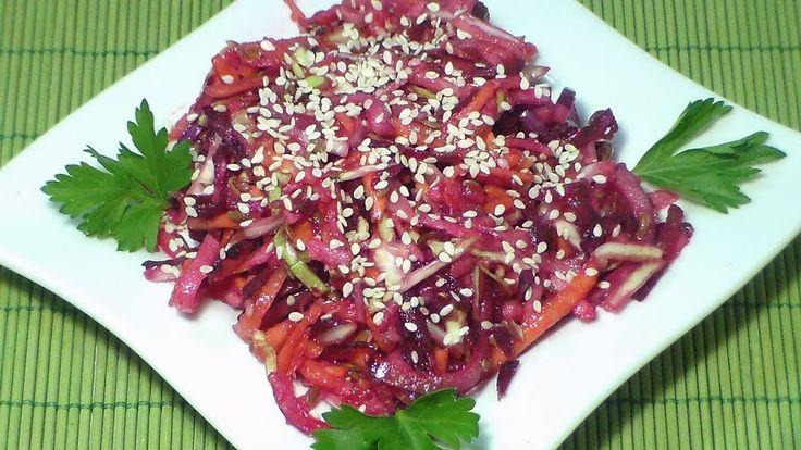 Салат из молодых овощей Молодые овощи, лучше есть сырыми. Их можно подать к столу с различными соусами и заправками.  Сделать салат можно  из молодых овощей.  Для этого подойдут морковь, свекла, молодая капуста, огурцы, помидоры.  Подойдёт всевозможная зелень- салат, шпинат, укроп, петрушка и т. д. Количество инградиентов используется от одного до бесконечности. Главное – подавать салат к столу сразу же после приготовления. #Марина_Перепелицына, #легко и просто.