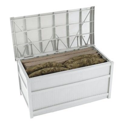 Suncast Deck Box White 50 Gallon Target Landscaping