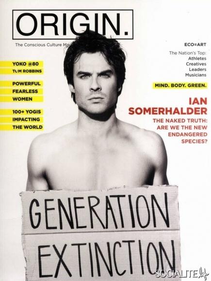 Ian Somerhalder For Origin Magazine