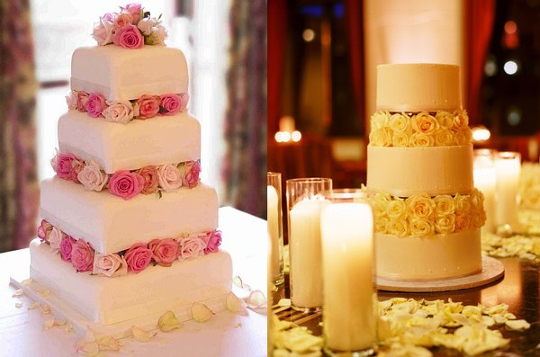 Tortas de matrimonio especiales para primavera