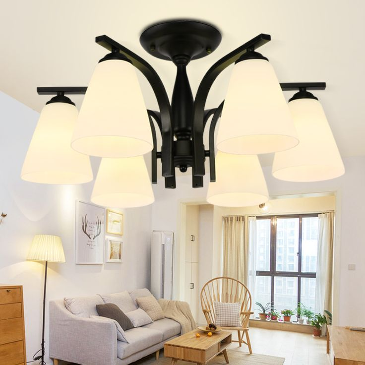 Find More Ceiling Lights Information About Modern Lustre LED Surface Mounted Glass Wrought Iorn