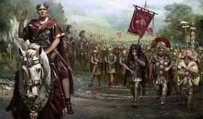 19 – Las poderosas y disciplinadas legiones romanas mantuvieron alejados y controlados a todos estos pueblos bárbaros hasta el siglo IV, mientras brillaba el esplendor de la cultura romana.