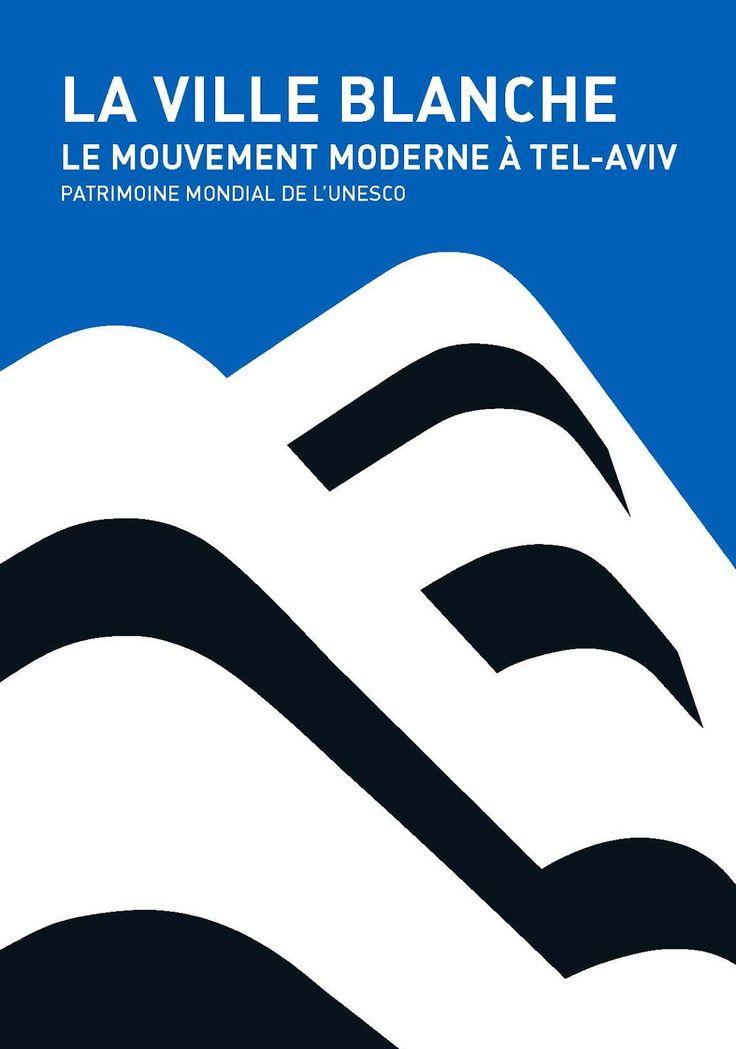 La Ville Blanche Le Mouvement Moderne art poster / graphic design by Peter Szmuk (2004)