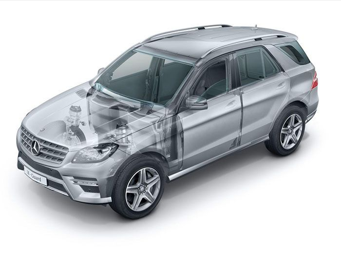 2013 Mercedes-Benz M-Class Guard: The German SUV gets its own Armored Version