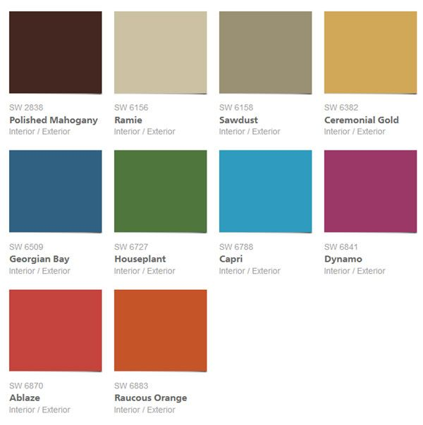 2014 Interior Paint Colors