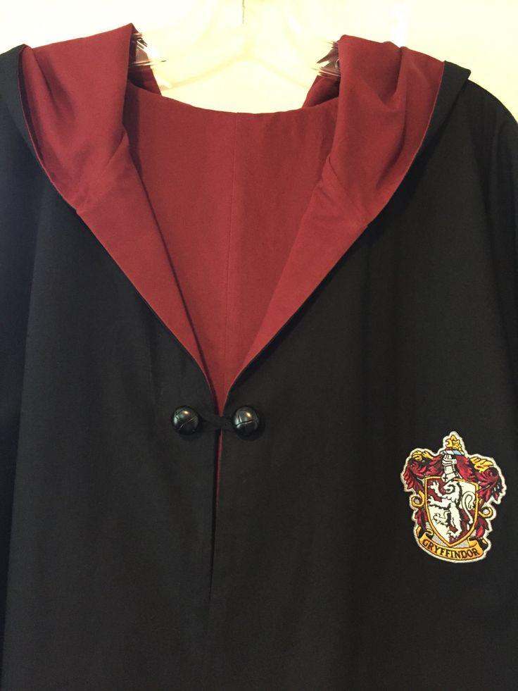 Harry Potter Gryffindor Robe Adult Medium by murf56dubois on Etsy