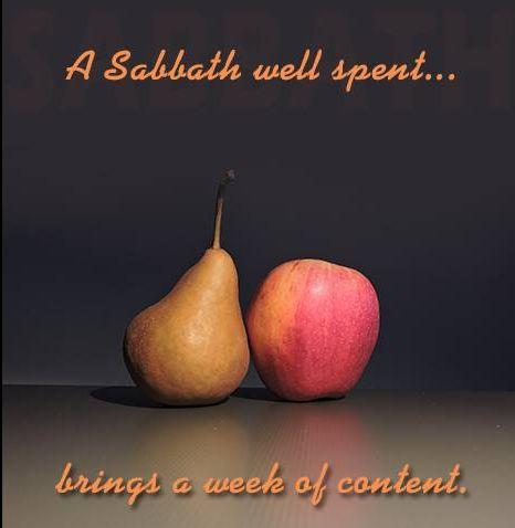 HAPPY SABBATH TO ALL