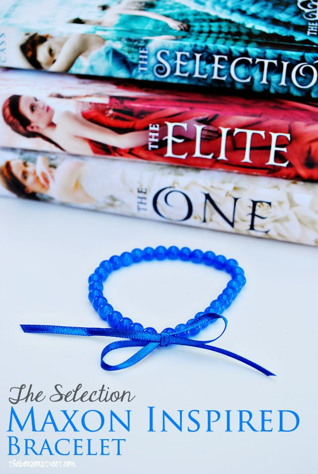 The Selection Series Maxon Inspired Bracelet at thebensonstreet.com #TheSelection #KieraCass