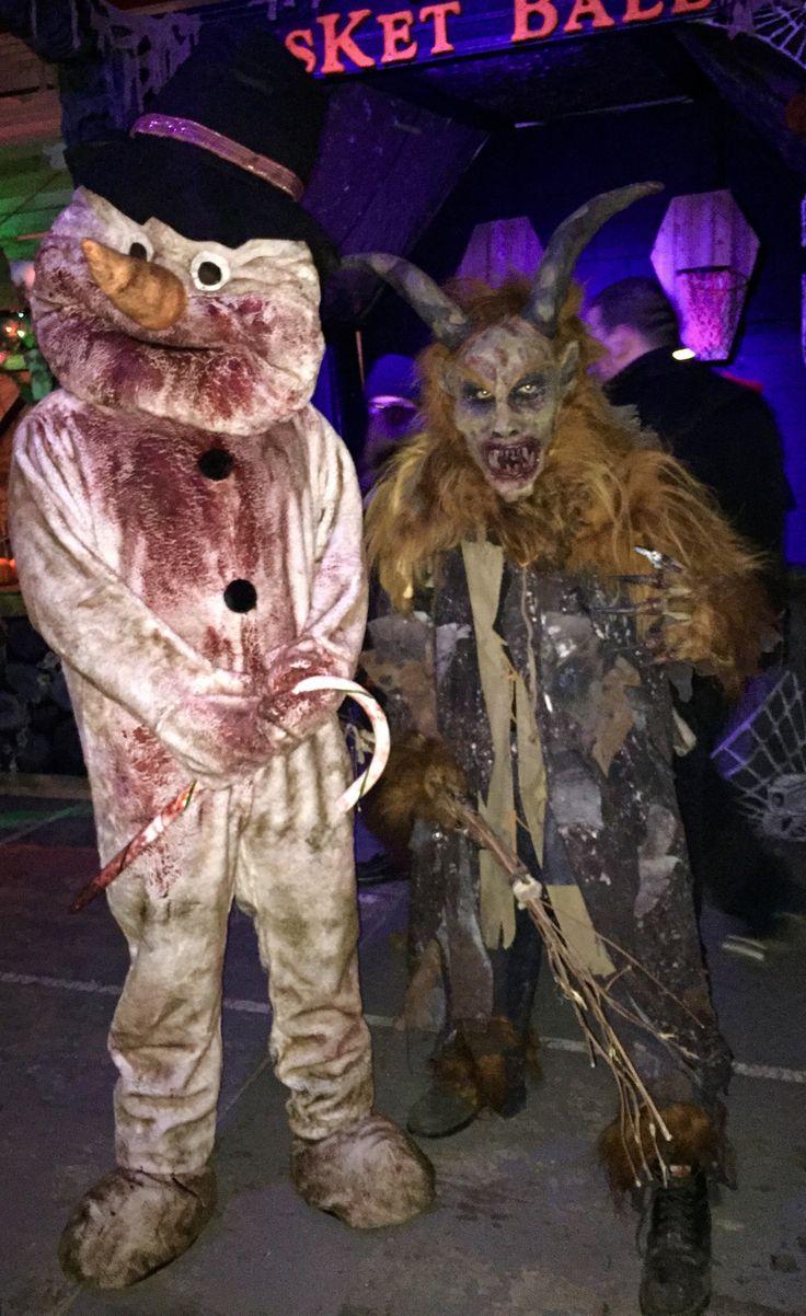 Krampus costume for sale - Killer Snowman Krampus Costumes