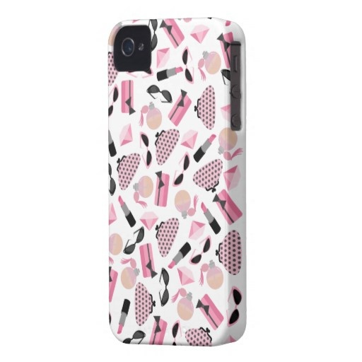 Perfume & Purses iPhone 4 Case-Mate Barely There™ iPhone 4 Case-Mate Cases $42.30
