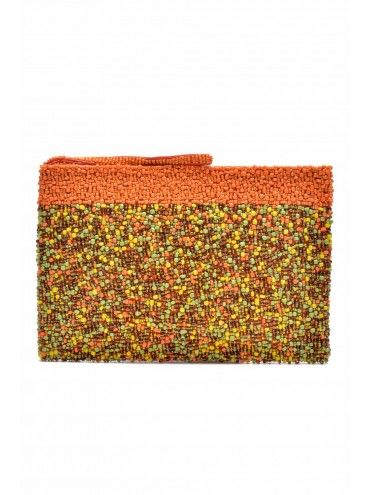 BORRO Orange Clutch