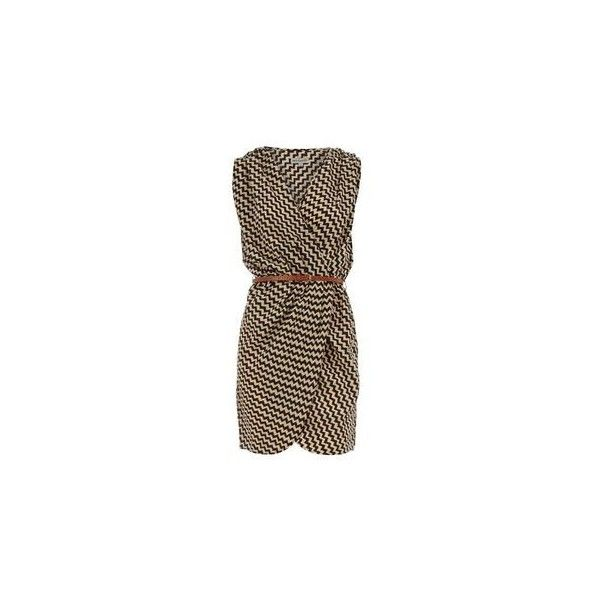 Kanapka Z Tortilli ❤ liked on Polyvore featuring dresses, burberry dress, burberry, pin dress and brown dress