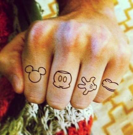 Tattoo Disney Small Quotes Mickey Mouse 33+ Ideas