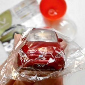 スバルXV HYBRID・ミニカー型LEDライトキーホルダー