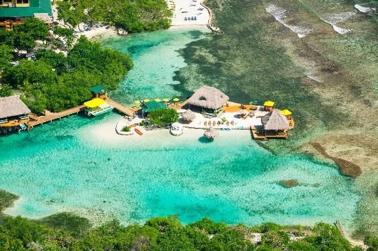 Clear warm waters.... Little French Key, Roatan, Honduras - Paradise awaits you - do not miss this treasure if you go to Roatan.