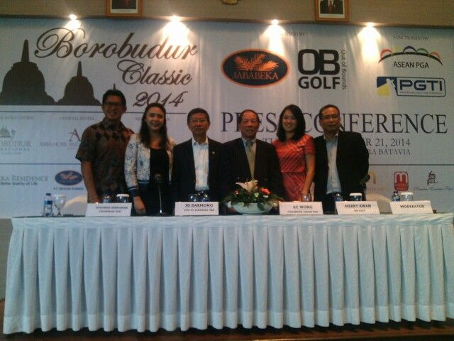 Borobudur Classic, ASEAN PGA Tour Golf Tournament, Nov 16-23Nov 2014