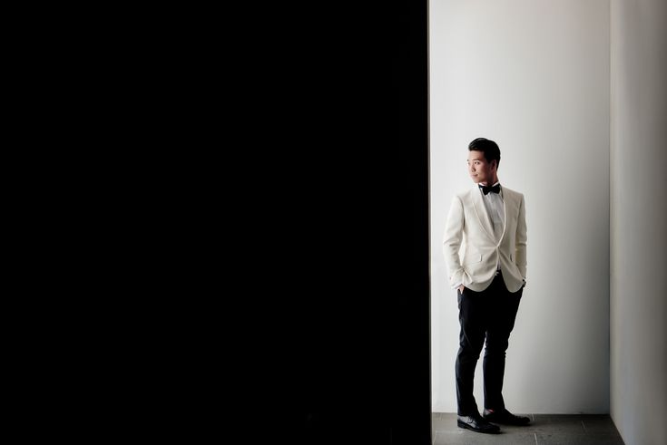 Groom | Linda + Ryan's Wedding | Brisbane Wedding Photographer | Evernew Studio