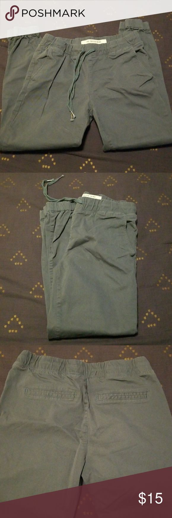 BLUE/GRAY CUFFED CHINOS FROM COTTON: ON Cotton: On chinos, so comfy! Size 6 Cotton On Pants Trousers