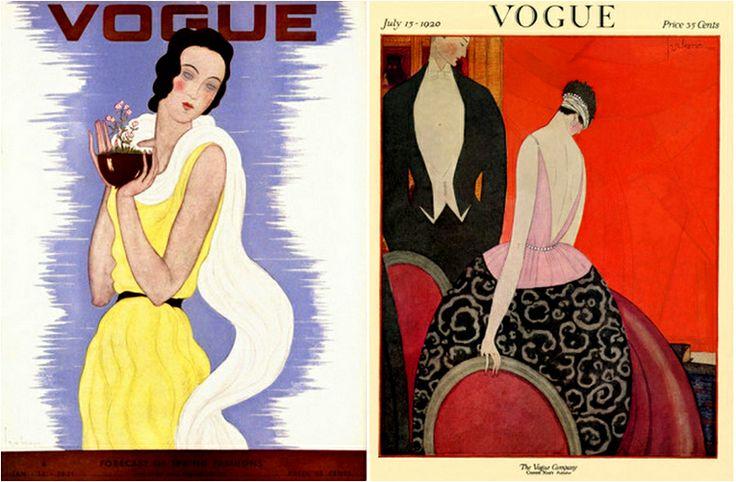 SENSORY LEVEL: Georges Lepape Covers