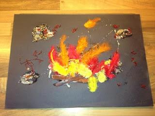 Bonfire Collages