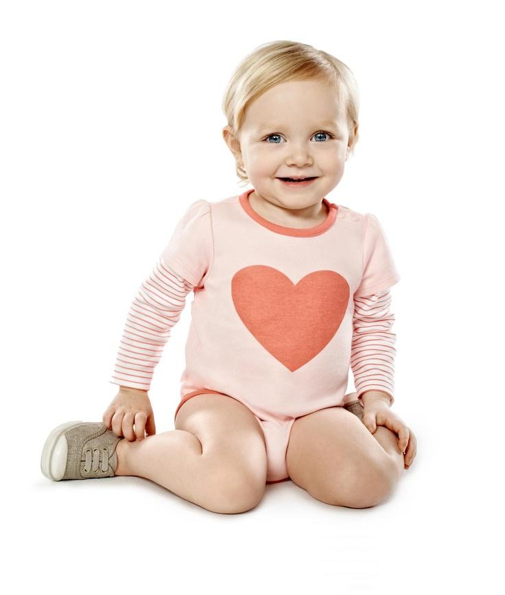 Mix Apparel Multi Hearts Bodysuit
