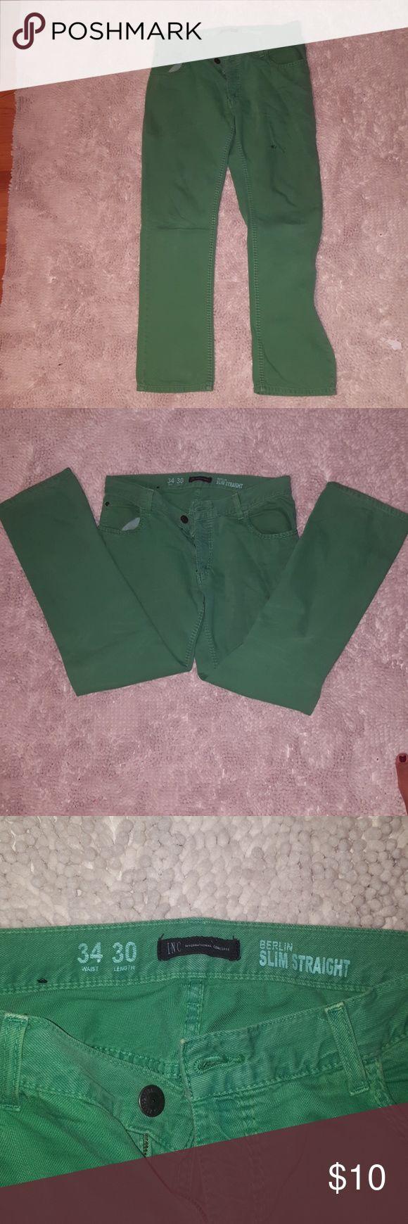 Men's Macy's INC slim straight jeans Macy's INC International Concepts slim straight jeans INC International Concepts Jeans Slim Straight