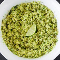 Rijst met avocado, koriander en limoen   detoxcoach