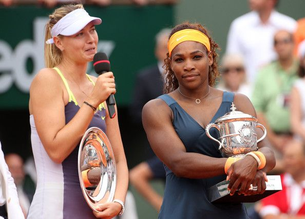 Serena Williams Maria Sharapova Photos: Serena Williams Wins the French Open